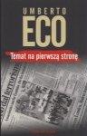 Temat na pierwszą stronę Umberto Eco