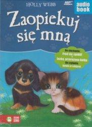 Zaopiekuj się mną Fred się zgubił Łezka, przerażona kotka Holly Webb audiobook