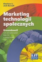 Marketing technologii społecznych Charlene Li Josh Bernoff