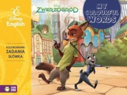 Zwierzogród Disney English My colourful words!