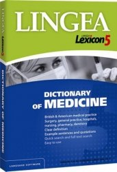 Lexicon 5 Dictionary of Medicine (CD)