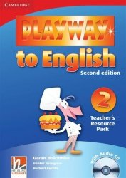 Playway to English 2 Teacher's Resource Pack +CD Garan Holcombe Gunter Gerngross Herbert Puchta
