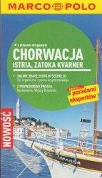 Chorwacja Istria Zatoka Kvarner przewodnik z atlasem drogowym Marco Polo