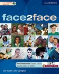 face2face Pre-intermediate Student's Book with CD-ROM/Audio CD EMPIK Polish edition