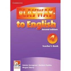 Playway to English 4 Teacher's Book Gunter Gerngross Herbert Puchta Megan Cherry