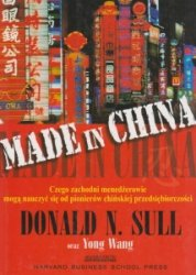 Made in China Donald N Sull