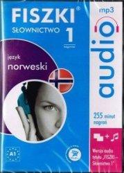 Fiszki audio język norweski Słownictwo 1