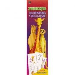 Zwierzęta Kolorowanka z naklejkami