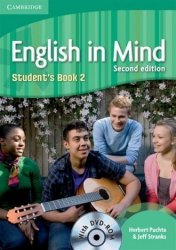 English in Mind 2 Students Book (+ DVD) Język angielski Gimnazjum Herbert Puchta Jeff Stranks