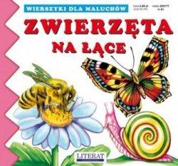 Wierszyki dla maluchów Zwierzęta na łące Joanna Paruszewska