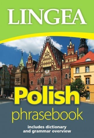 Polish phrasebook includes dictionary and grammar overview
