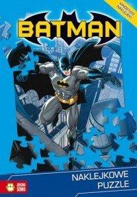 Batman Naklejkowe puzzle