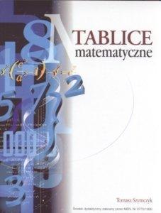 Tablice matematyczne Tomasz Szymczyk