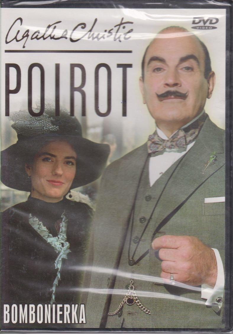 Poirot Agatha Christie cz. 30 Bombonierka DVD