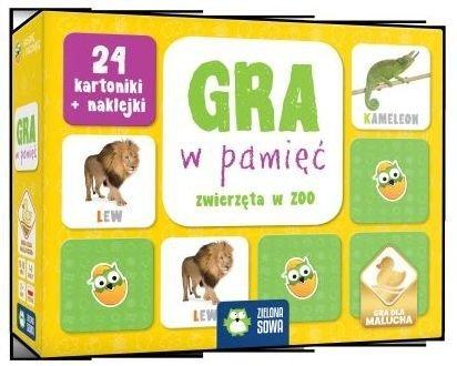 Gra w pamięć Zwierzęta w zoo
