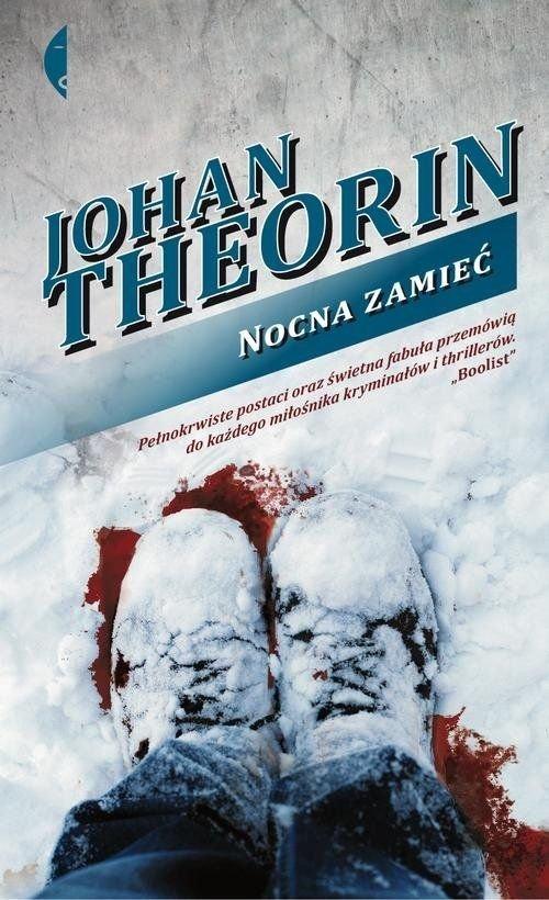 Nocna zamieć Johan Theorin