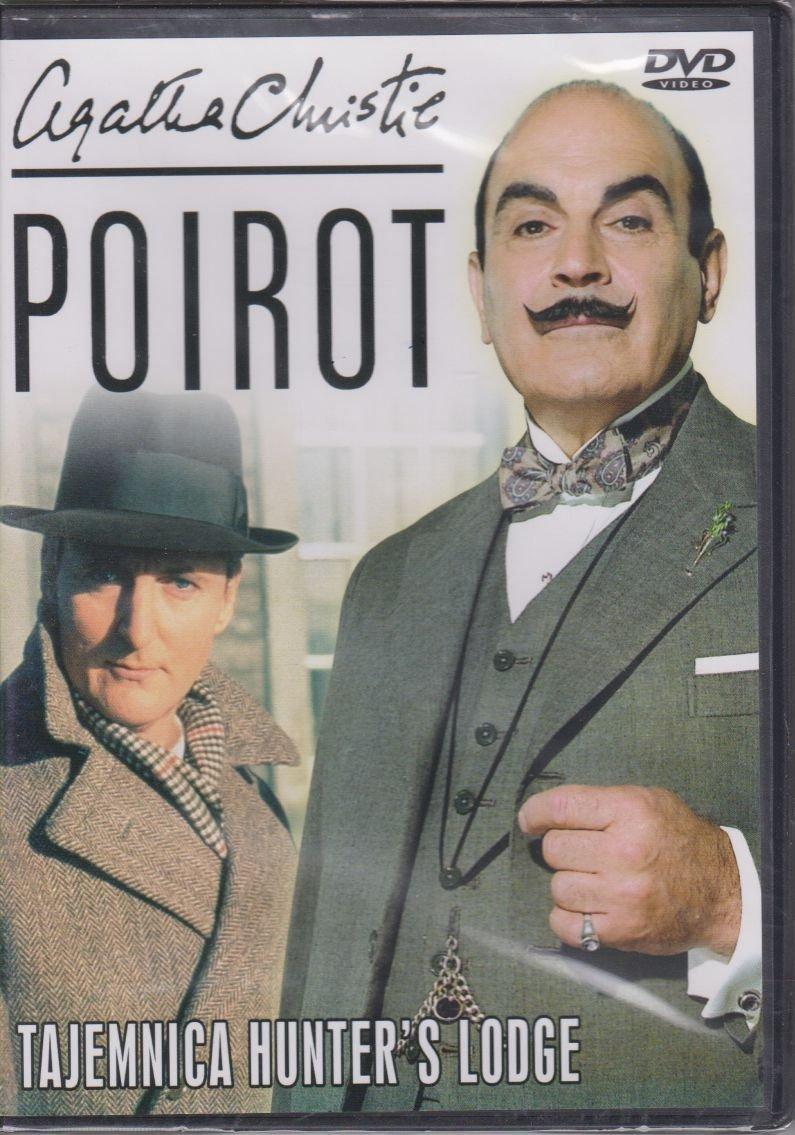 Poirot Agatha Christie cz. 18 Tajemnica Hunter's Lodge DVD