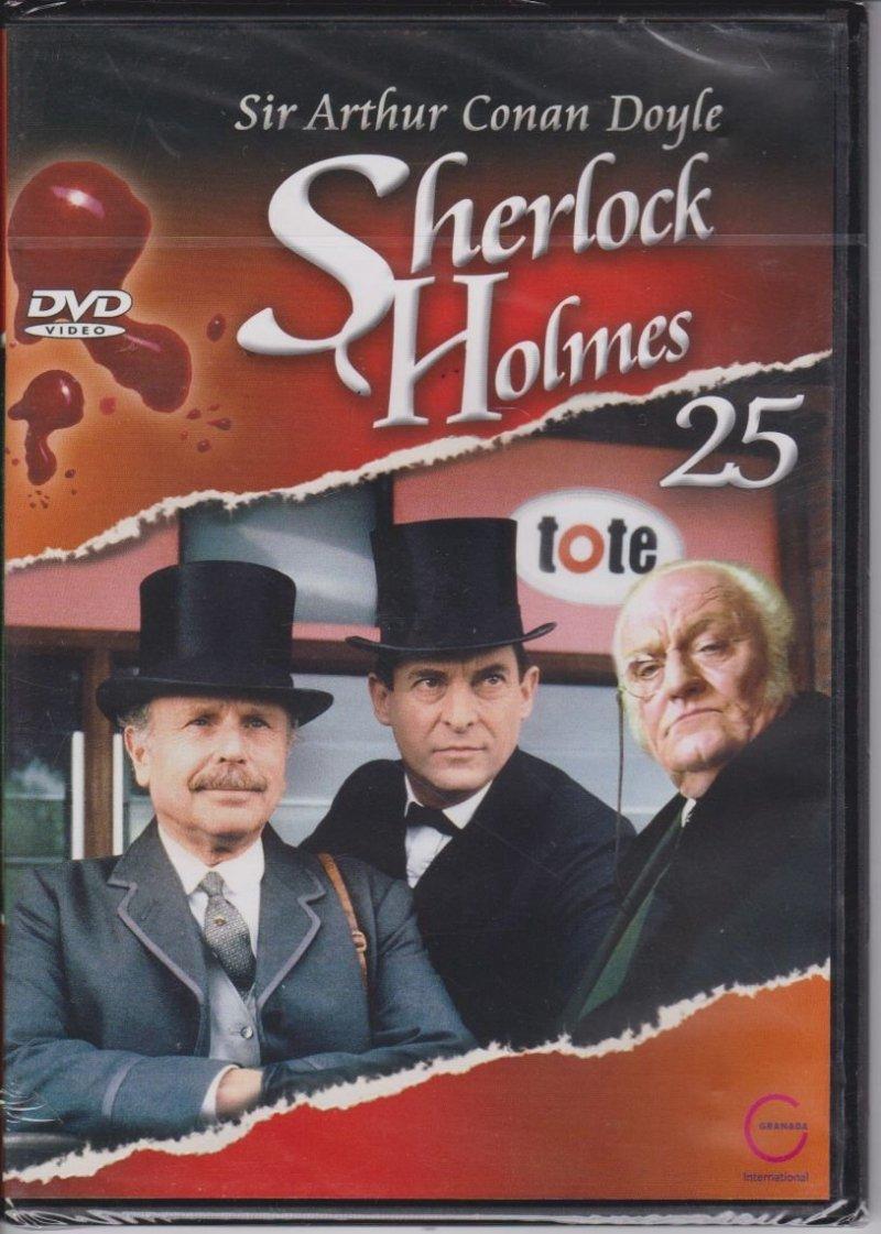 Sherlock Holmes Sir Arthur Conan Doyle cz. 25 Klejnot Mazarina DVD