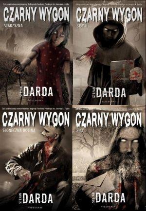 Czarny Wygon 4 tomy Stefan Darda