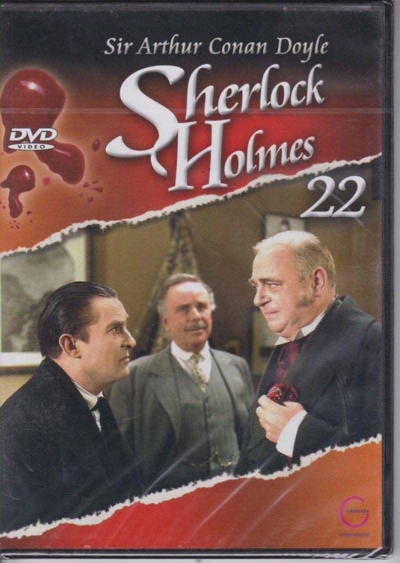 Sherlock Holmes Sir Arthur Conan Doyle cz. 22 Umierający detektyw DVD