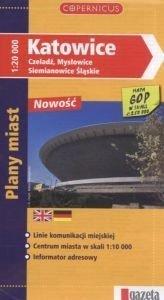 Katowice Czeladź Mysłowice Siemianowice Śl Plany miast Skala 1:20 000