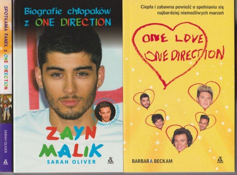 One Direction Pakiet 3 książki