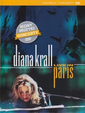 Diana Krall Live in Paris książka + film