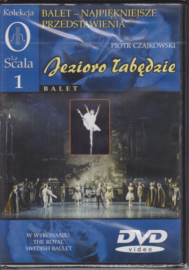 Balet najpiękniejsze przedstawienia cz. 1 Jezioro łabędzie Piotr Czajkowski DVD