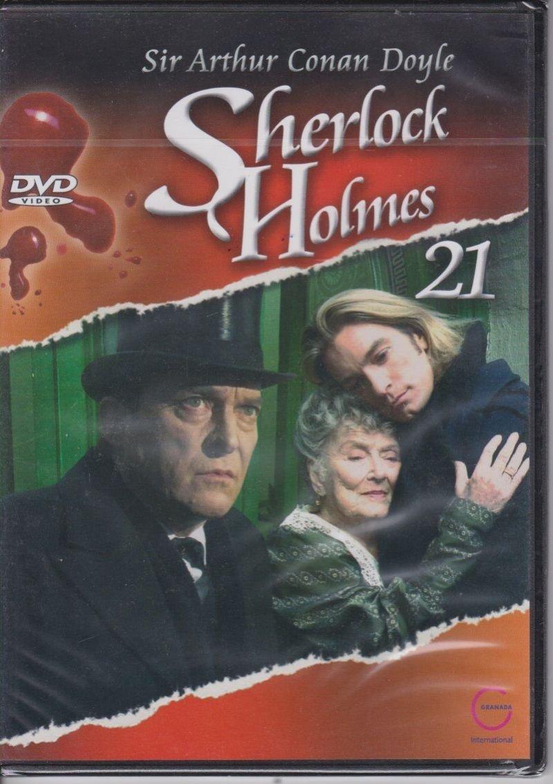 Sherlock Holmes Sir Arthur Conan Doyle cz. 21 Willa o trzech daszkach DVD