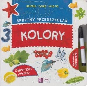 Kolory Sprytny Przedszkolak + zmywalny flamaster