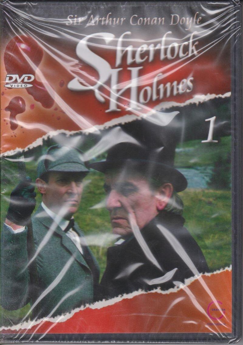 Sherlock Holmes Sir Arthur Conan Doyle cz.1 DVD
