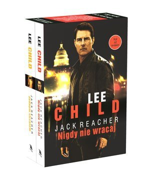 Box Jack Reacher Jednym strzałem Nigdy nie wracaj wydanie filmowe Lee Child