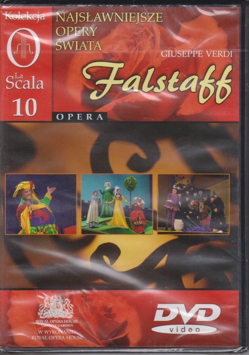 Najsławniejsze opery świata cz. 10 Falstaff Giuseppe Verdi DVD