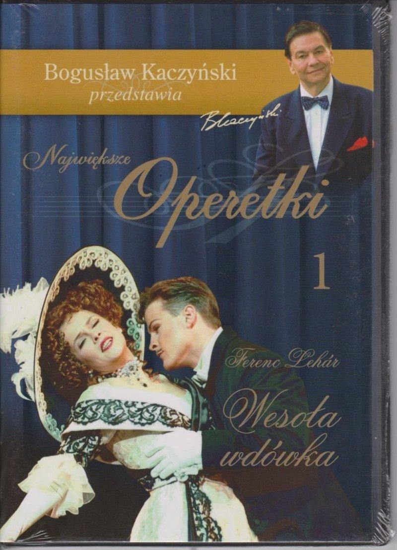 Wesoła wdówka Największe operetki cz.1 Bogusław Kaczyński przedstawia DVD