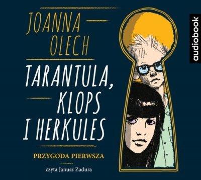 Tarantula Klops i Herkules Przygoda pierwsza Joanna Olech Audiobook mp3 CD