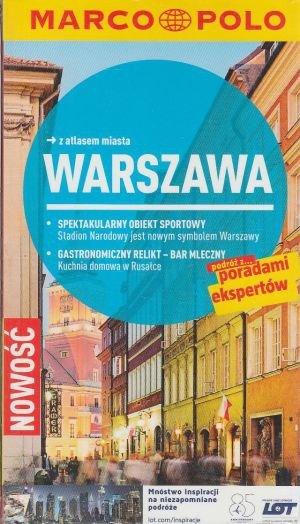 Warszawa przewodnik z atlasem miasta Marco Polo