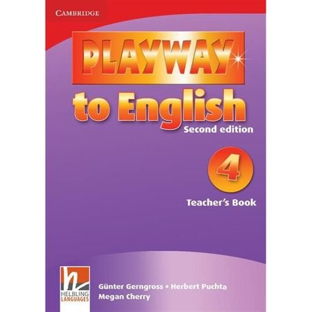 Playway to English 4 Teacher's Book  Gunter Gerngross herbert Puchta Megan Cherry