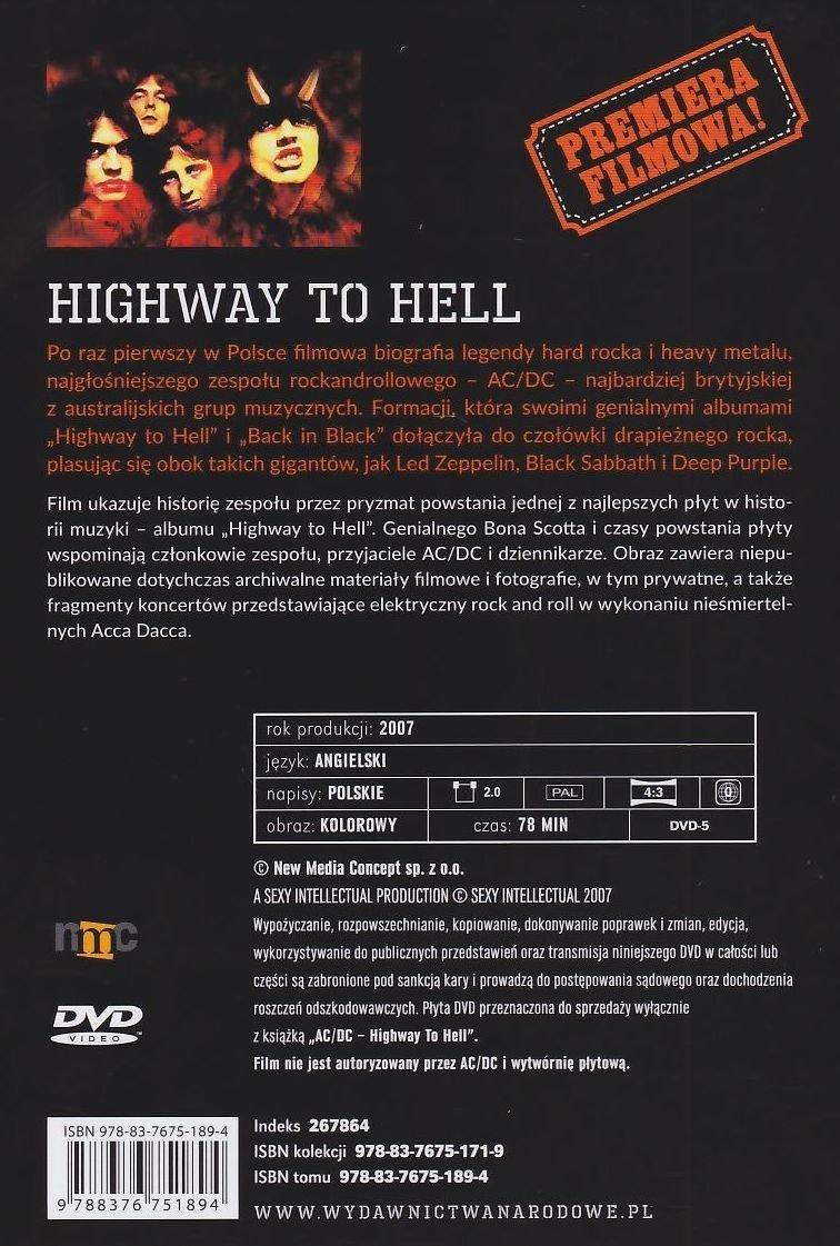 AC/DC Highway to Hell książka + film
