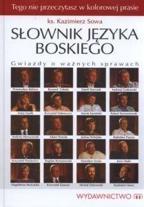 SŁOWNIK JĘZYKA BOSKIEGO Gwiazdy o ważnych sprawach ks Kazimierz Sowa