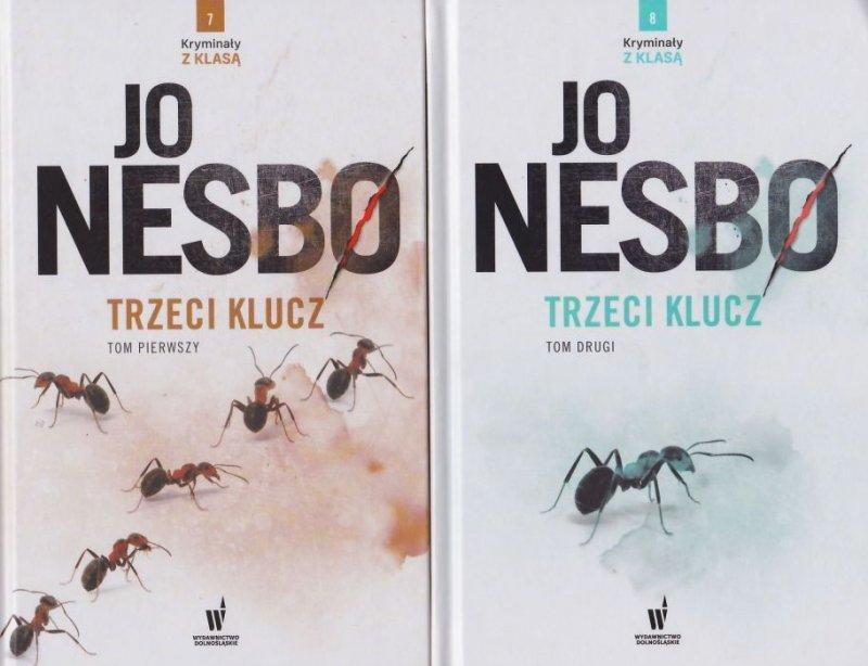 Trzeci Klucz Tom 1 i 2 Kryminał z klasą nr 7 i 8 Jo Nesbø