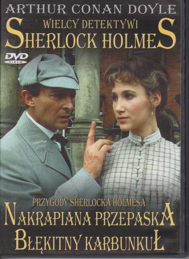 Sherlock Holmes Wielcy Detektywi cz. 6 Nakrapiana przepaska, Błękitny karbunkuł DVD