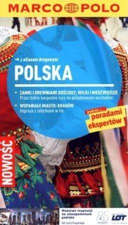Polska przewodnik z atlasem drogowym Izabella Gawin Janusz Tycner Julia Kramer Knut Krohn