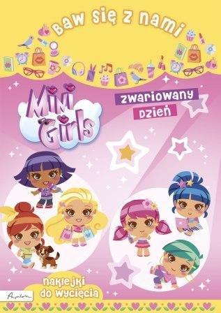 Baw się z nami Mini Girls Zwariowany dzień Naklejki