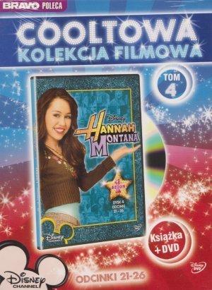 Hannah Montana tom 4 odcinki 21-26 książka + DVD