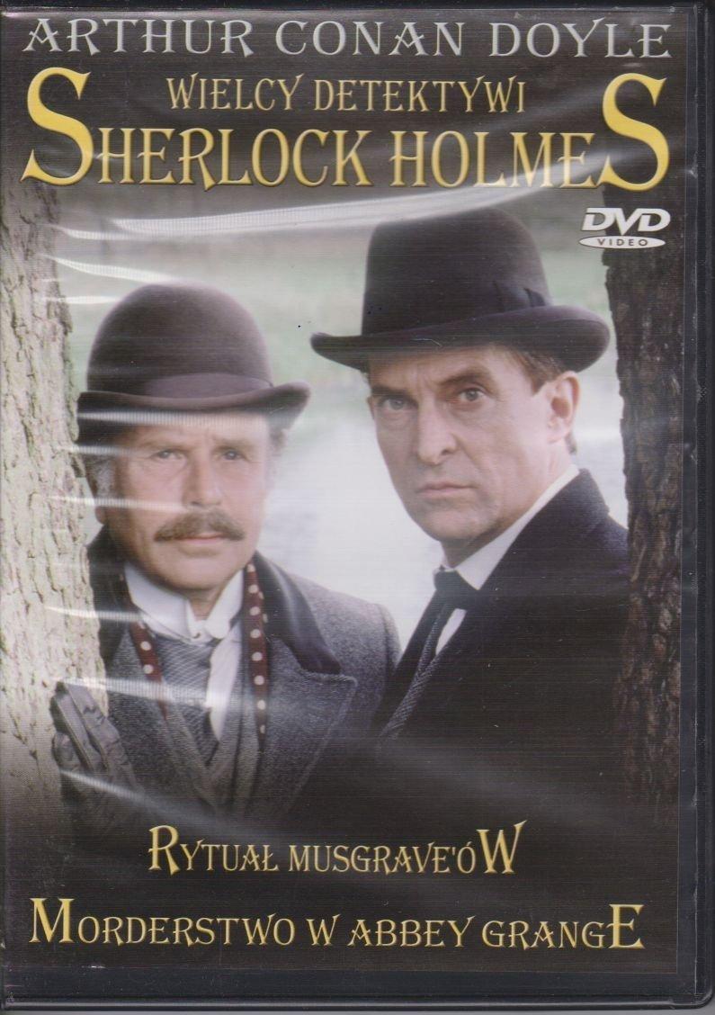 Sherlock Holmes Wielcy Detektywi cz. 11 Rytuał Musgrave'ów, Morderstwo w Abbey Grange DVD