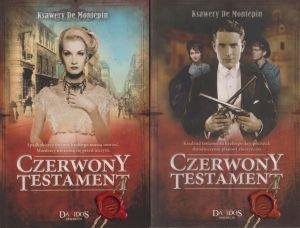 Czerwony testament Ksawery De Montepin 2 tomy