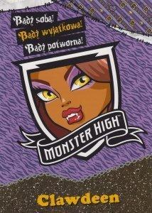 Monster High Bądź wyjątkowa Clawdeen