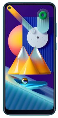 Smartphone SAMSUNG Galaxy M11 Niebieski 32 GB Niebieski SM-M115FMBNEUE