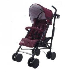 Wózek Eco Swiss Design 300d Bordo #D1 Czerwony