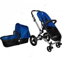 Wózek Baobao Full Wypas Gondola spacerowy Blue #D1